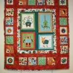 Quilts provided by the Hervey Bay Social Quilters to Queensland Police Legacy.
